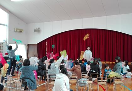 幼稚園で遊ぼう会