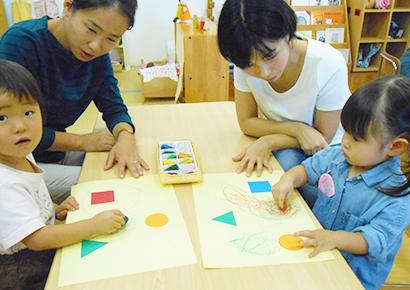 親子の遊び教室
